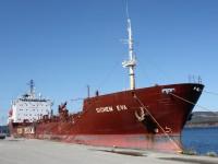 Dow Chemical Caustic Soda vessel unloading at Marathon Pulp; Marathon, Ontario