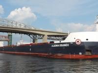 Algoma Equinox enters Hamilton harbour with a load of iron ore for Defasco.